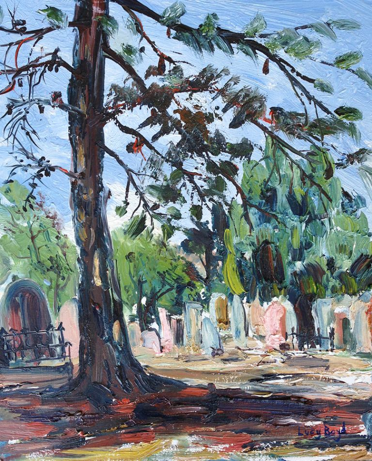 Peppercorn Tree, Melbourne Cemetery. Lucy Boyd.