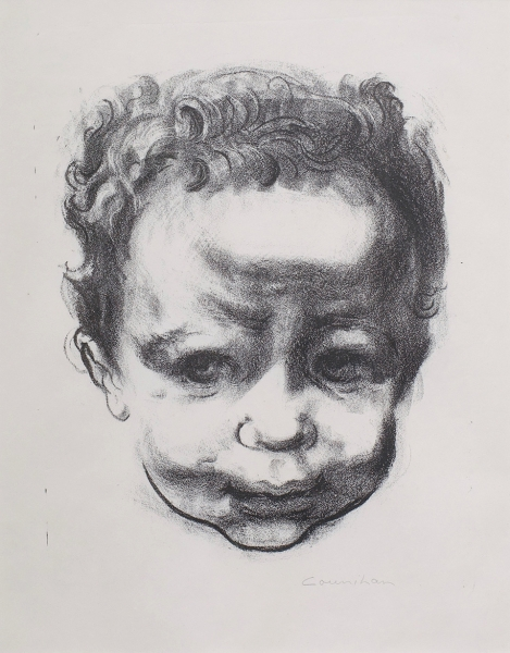 A Child 1948. Noel Counihan.