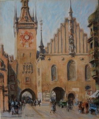 Clock Tower, Prague. Janet Cumbrae-Stewart.
