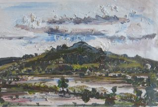 Hereford Flooded Fields LUGG 2007. Lucy Boyd.