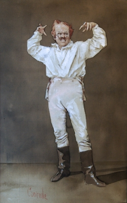 The Actor. Alfred Charles Conrade.