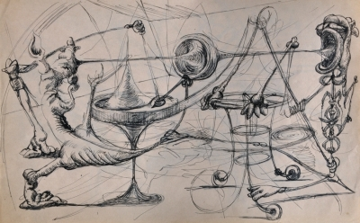 Spinning mobiles. Clifford Bayliss.
