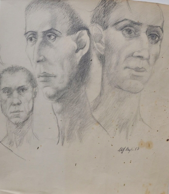 Faces 1958. Clifford Bayliss.