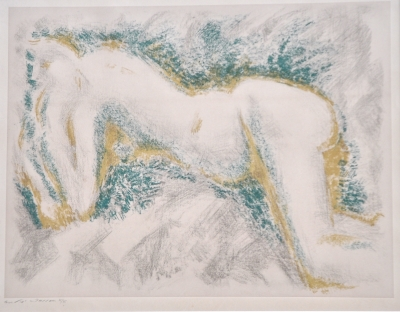 Reclining Nude. Andre Masson.