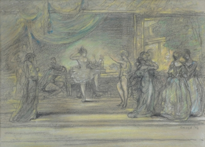 Scene From an Oriental Ballet 1904. Charles Conder.