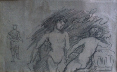 Nudes, Study. Charles Conder.