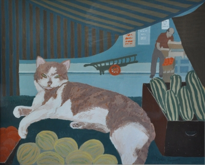 The Mother Cat. Joan Russell.