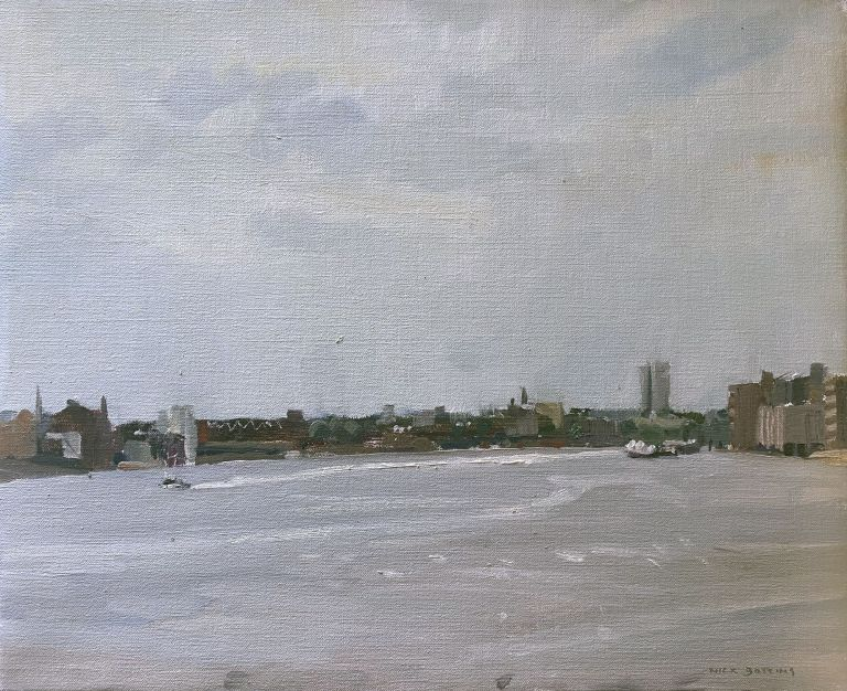 The Thames at Limehouse. Nick Botting.