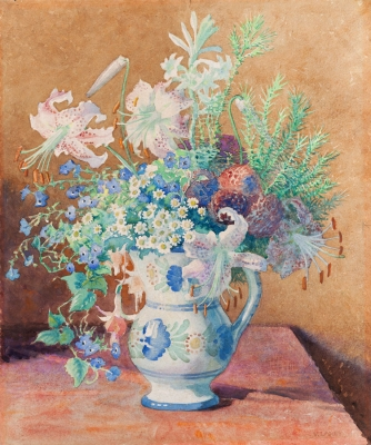 Tiger Lilies and Other Flowers. Frances Vida Lahey.
