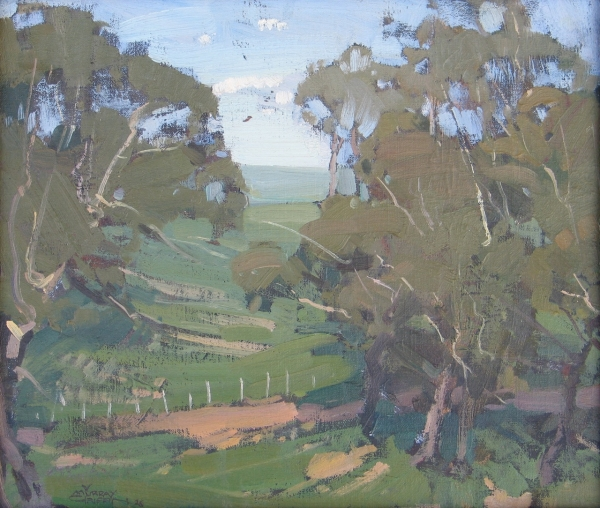 Mansfield Landscape 1926. Murray Griffin.