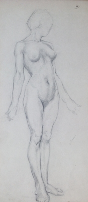 Standing Nude. Jean Sutherland.
