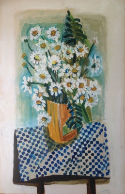 Still Life with Daisies. Guelda Pyke.