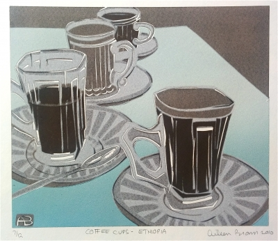 Coffee Cups – Ethiopia. Aileen Brown.
