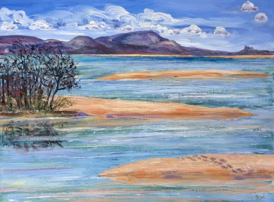 Mallacoota Inlet. Lucy Boyd.