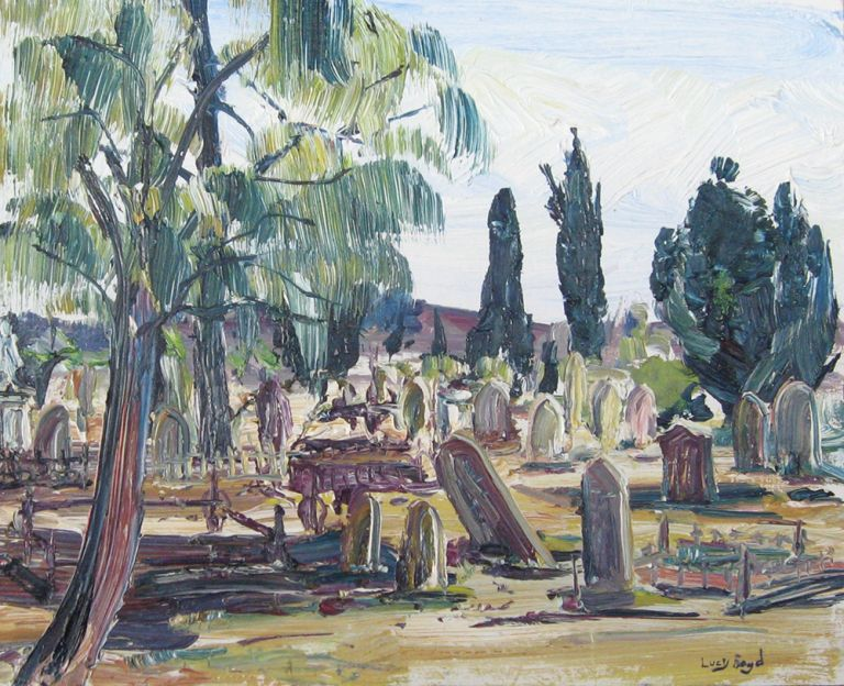 Melbourne Cemetery. Lucy Boyd.