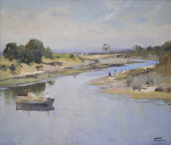 Mordialloc Creek. Alfred Coleman.