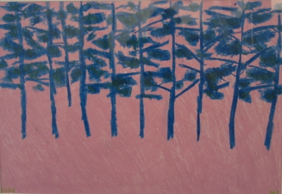 Trees, Mornington 2004. Morris Lurie.