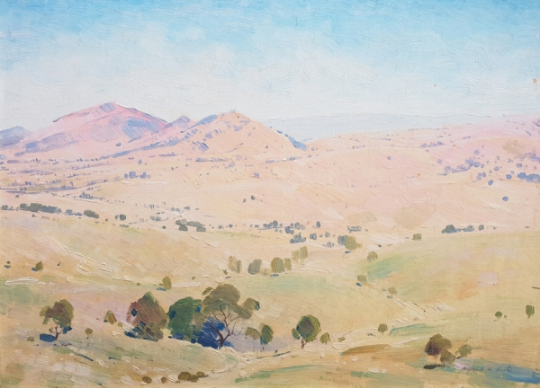 North from the Singleton Hills NSW. Alfred H. Cook.