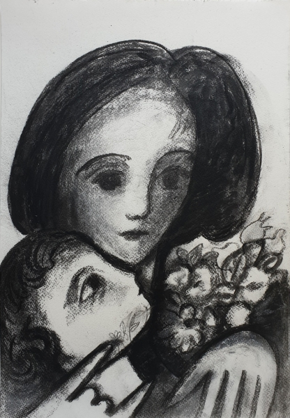 Mother and Child 2009. Barry Dickins.