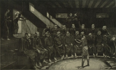 Christ and the Doctors 1921. Frank Medworth.