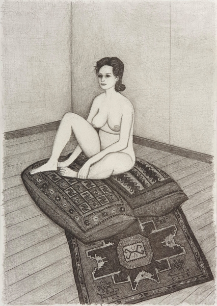 Nude Seated. John Brack.