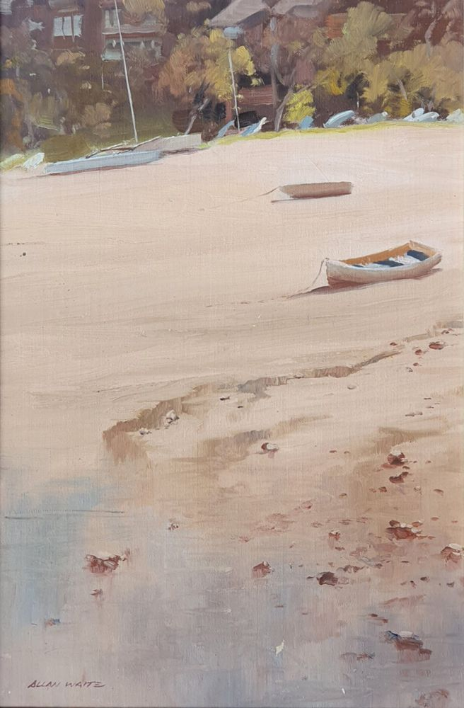 Low Tide, Sandy Bay. Allan Waite.