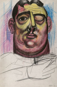 Man with One Eye Closed 1946. Clifford Bayliss.