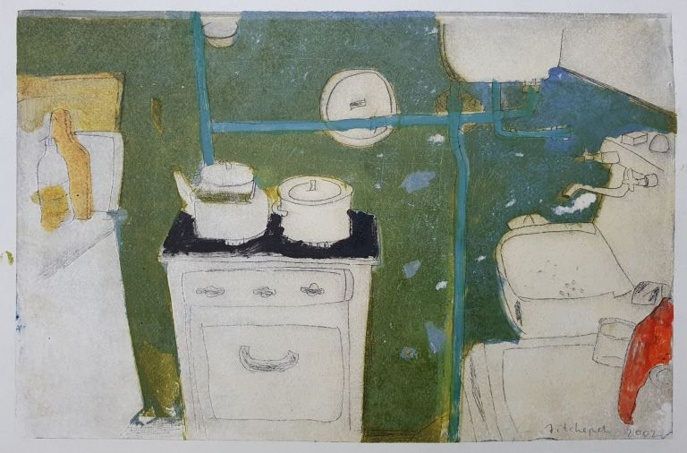 Kitchen Interior 2002. Anja Tchepets.