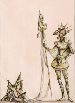 Dancer with Armour c1943-47. Kenneth Rowell.