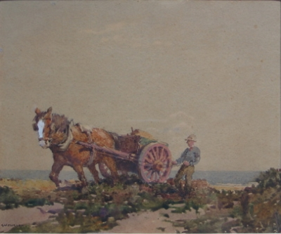 Horse and Cart. R. W. Sturgess.