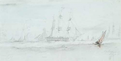 Spithead. Oswald Brierly.