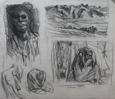 Sketches of Aborigines. James Wigley.