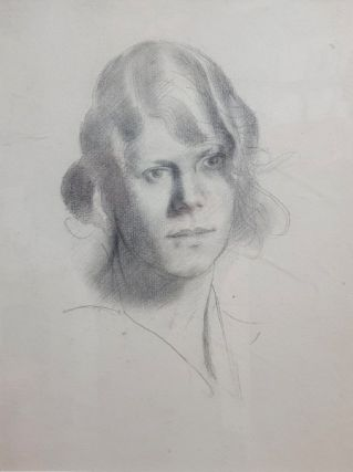 Sketch of Lyndra. Derwent Lees