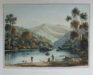 View on the Upper Mitta Mitta 1865. George Appleton