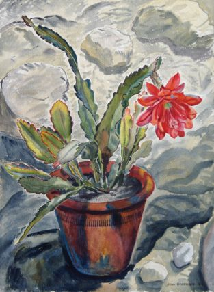 Cactus 1944. Jean Isherwood