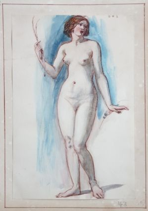 Standing Nude. William E. Frost R. A