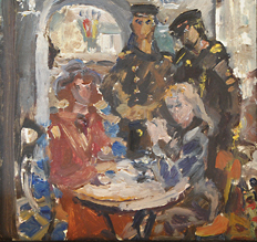 Sailors in the Cafe 1970. Valentina Savelieva