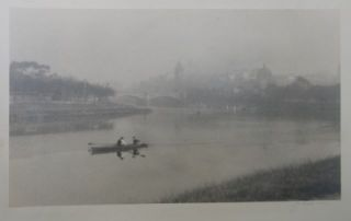 Distant View of Melbourne from the Yarra c 1920s. John B. Eaton