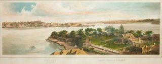 Sydney from Blues Point, Darling Harbour & Balmain (Port Jackson). Troedel, Charles Co