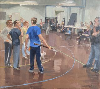 Rehearsals, The Wizard of Oz. Nick Botting