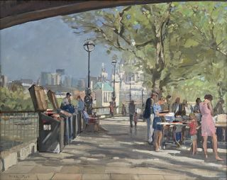 Bookseller on the South Bank, London. Nick Botting