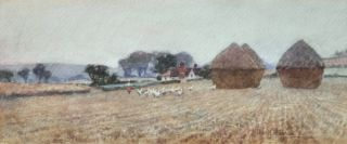 Haystacks. Albert J. Hanson