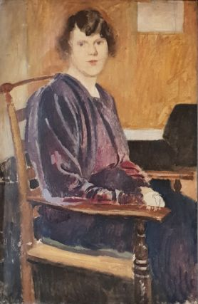 The Artists Wife, Lyndra. Derwent Lees
