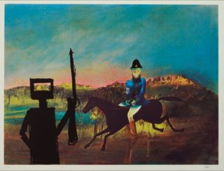 The Evening. Sidney Nolan