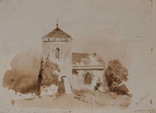 A Church 1876. Louis Buvelot