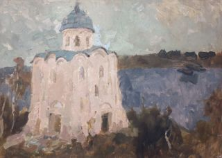 Church by the Lake. Irina Kovaleva