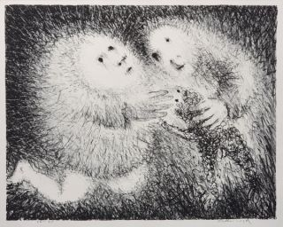 The Gift of the Lamb 1964-5. Arthur Boyd