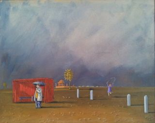 Tullamarine, Skipping Daughter 2009. Jeff Ferris