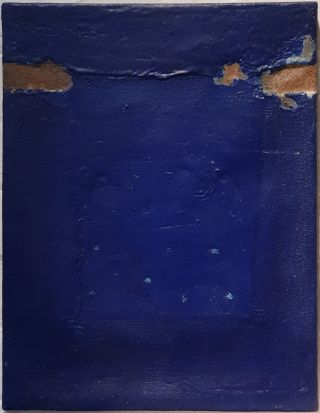 Untitled Blue 1966. Peter Clarke
