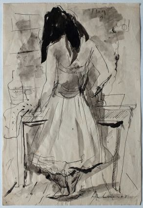 Dancer Ironing 1947. Francis Lymburner